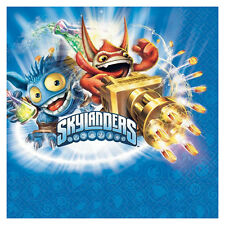 """16 Skylanders Video Game Birthday Party Disposable 6.5"""" Paper Napkins"""
