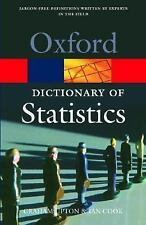 A Dictionary of Statistics (Oxford Quick Reference)-ExLibrary
