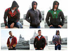 Superhero the Avengers Shazam Batman Hoodie Hooded Sweatshirt Coat Jacket S-2XL