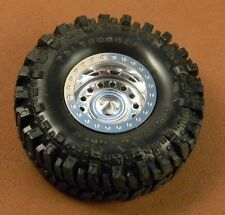 SoReal Diecast Wheel Beadlocks - Type 2 - Chrome