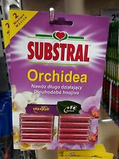 Substral fertilizer sticks for orchids with vitamins and Ferrum (Fe)