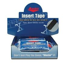"Master 1"" Super Textured BLACK Bowling Tape 32 Piece Pack"