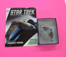 STAR TREK STARSHIP COLLECTION # 83 BAJORAN TROOP TRANSPORT FREE SHIP EAGLEMOSS