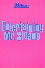 THEATRE PROGRAMME  ENTERTAINING MR SLOANE   SIGNED BY  BARBARA WINDSOR