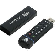 Apricorn Aegis Secure Key 3.0 - Usb 3.0 Flash Drive - 30 Gb - Usb 3.0 - 256-bit