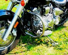 STAINLESS STEEL CLASSIC CRASH BAR GUARD YAMAHA XV 1600 WILDSTAR (1700 ROADSTAR)