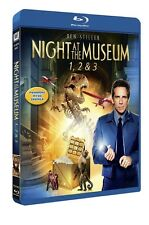 Night At The Museum 1-3 (Region Free) Blu Ray