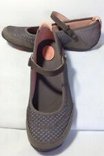 "New! TEVA ""Niyama"" Mary Jane Flats Brown & Pink Size 7.5"