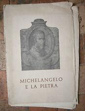 2250 Michelangelo e la pietra Édition : Fiuggi Spa en italien
