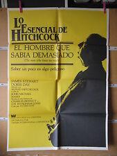 A674 EL HOMBRE QUE SABIA DEMASIADO. ALFRED HITCHOCK