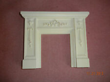 DOLLHOUSE MINIATURE INCH SCALE 'MARBLE'  FIREPLACE