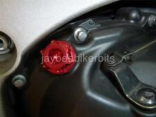 OIL FILLER CAP CNC RED APRILIA RS250 RSV1000 MILLE TUONO FACTORY FALCO  R1A8