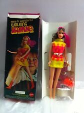 Vintage Barbie Doll WALKING JAMIE SEARS EXCLUSIVE Brunette NRFB MIB MIP MOC