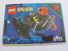 LEGO 6115 @@ NOTICE / INSTRUCTIONS BOOKLET / BAUANLEITUNG 1