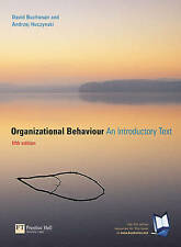 Organizational Behaviour: An Introductory Text, Fifth Edition-ExLibrary