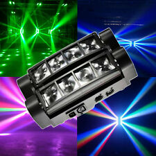 60W 8-LED 4-in-1 RGBW Light Spider Moving Head Stage Lights DMX DJ Disco US Plug
