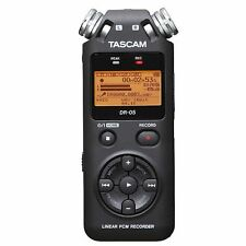 Tascam DR 05v2 Registratore audio digitale con 4gb MICRO SD CARD