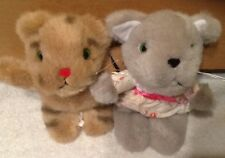 Lot of Vintage Mr. Rogers Neighborhood DANIEL TIGER HENRIETTA PUSSYCAT Plush Toy