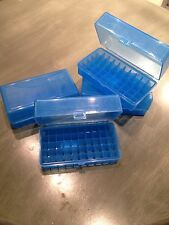 BERRY'S AMMO BOX 50 Beowulf 500 S&W 223/ 243 WSSM BLUE 50RD (1) CASE MPN 413