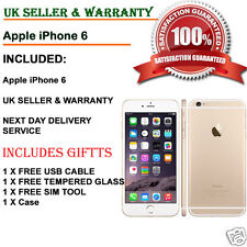 Apple iPhone 6 -16GB - Gold (Unlocked) Smartphone 100% working UK GRADE C