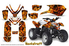 POLARIS OUTLAW 50 PREDATOR 50 2005-2012 GRAPHICS KIT CREATORX BACKDRAFT O