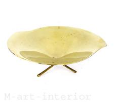 WMF 50er Messing Schale Design Günter Kupetz Tripod Brass Bowl vintage 1950´s