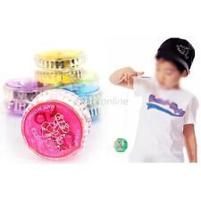 Kids Boy Girl New Flashing LED Glow YOYO Toys Party Light Up Funny Yo-Yo Toys