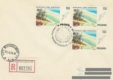 Poland postmark - national park