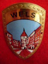 Wels used badge stocknagel hiking medallion G4878