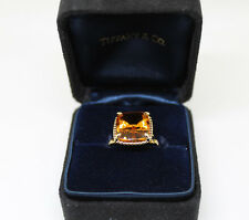 Tiffany & Co. Sparklers Citrine Ring 18k