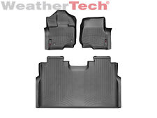 WeatherTech FloorLiner for Ford F-150 SuperCrew Bucket- 2015-2017 - Black