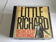 Little Richard - His Greatest Recordings CD