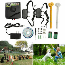 New Underground Waterproof 2 Shock Collar Electric Dog Fence Fencing System USA