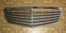 MERCEDES E350 E500 E550 E63AMG CHROME GRILLE, PART# 2128800283, OEM