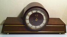 Ancienne pendule art déco en bois sonnerie style art déco