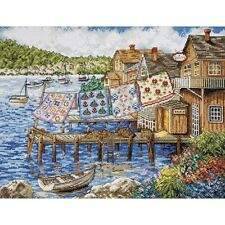 Counted Cross Stitch Kit DOCKSIDE QUILTS