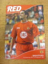 12/11/2004 Bristol City V Brentford [FA Cup]. este artículo está en muy buena CONDITI