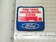 Ford Truck Leasing Rental System Patch (#3110)