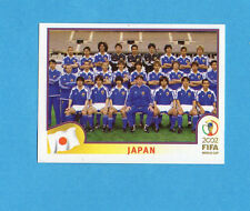 KOREA/JAPAN 2002-PANINI-Figurina n.531- SQUADRA/TEAM - GIAPPONE -NEW BLUE BACK