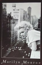Marilyn Monroe rare Photo Print Poster 24 x 36 inches New York black and white