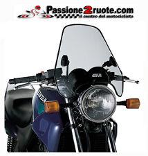 cupolino parabrezza windscreen moto universale givi a604 universal fumè chiaro