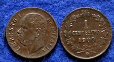 1900 Italy 1 cent.-King Umberto-Nice-#2