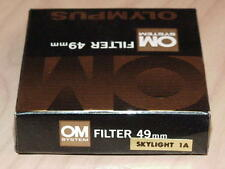 OLYMPUS OM ZUIKO 49mm SKYLIGHT 1A FILTER NEW IN BOX