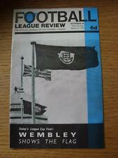04/03/1967 Football League Review: The Official Journal Of The Football League -