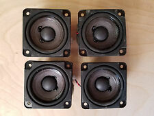(4) Bose Cube Style Speakers Accoustamass, Replacements, DIY NEW