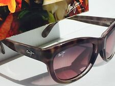NEW* Maui Jim KANANI Brown w Rose Polarized Lens Women Sunglass R270-11t $319