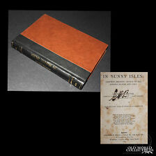 "1897 ''IN SUNNY ISLES: BAHAMS CUBA"" by George Lester ~early travel & exploration"