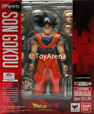 SH S.H. Figuarts Dragonball Z Normal Ver 2014 Son Goku Action Figure USA SELLER