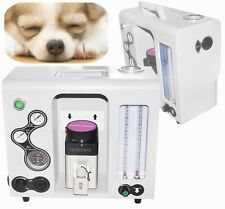 CE Veterinary Animal Anesthesia Machine Isoflurane Sevoflurane+ Vaporize CO2 N2O
