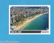 COPA AMERICA 2015 CHILE-Figurina n.10- VINA DEL MAR -NEW-BLACK BACK